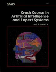 Cover of: Crash course in artificial intelligence and expert systems