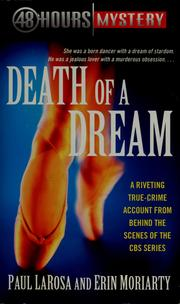 Cover of: Death of a dream