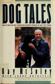 Cover of: Dog tales | Ray McSoley