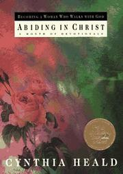 Cover of: Abiding in Christ