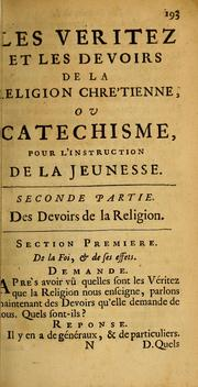 Cover of: Elemens du Christianisme