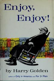 Cover of: Enjoy, enjoy!