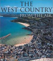 Cover of: The West Country from the air