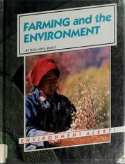Cover of: Farming and the environment | William E. Manci