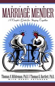 Cover of: The marriage mender | Tom Whiteman