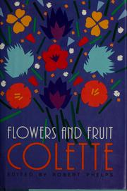 Cover of: Flowers and fruit