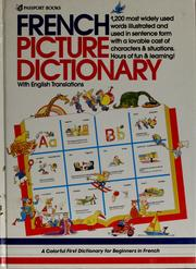 Cover of: French picture dictionary | Angela Wilkes