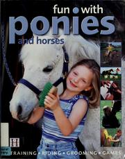 Cover of: Fun with ponies and horses | Debbie Sly
