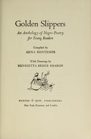 Cover of: Golden slippers