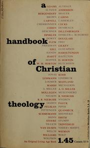 A Handbook of Christian theology