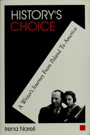 Cover of: History's Choice
