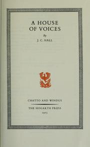 Cover of: A house of voices