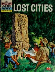 Cover of: The how and why wonder book of lost cities. | Irving Robbin