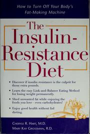 Cover of: The insulin-resistance diet | Cheryle R Hart