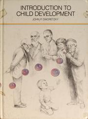 Cover of: Introduction to child development | John Dworetzky