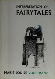 Cover of: An introduction to the interpretation of fairy tales