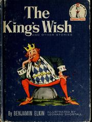 Cover of: The king