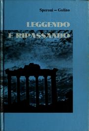 Cover of: Leggendo e ripassando