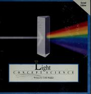 Cover of: Light by Colin Roland Walker