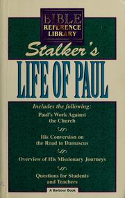 Cover of: The life of Paul