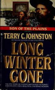 Cover of: Long winter gone