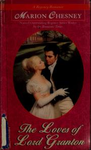 Cover of: The loves of Lord Granton