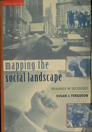 Cover of: Mapping the social landscape