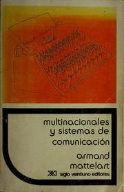 Cover of: Multinacionales y sistemas de comunicación