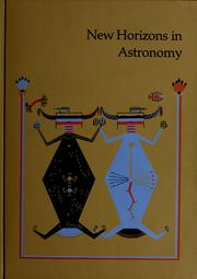 Cover of: New horizons in astronomy | John C. Brandt