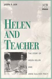 Cover of: Helen and Teacher