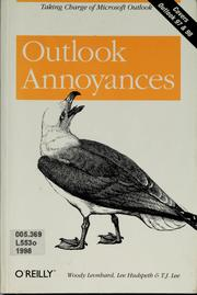 Cover of: Outlook annoyances