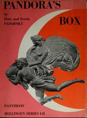 Cover of: Pandora's box:The Changing Aspects of a Mythical Symbol