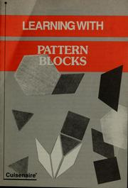 Cover of: Pattern blocks