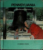 Cover of: Pennsylvania in words and pictures