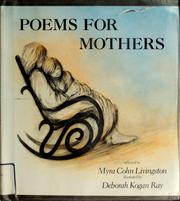 Cover of: Poems for mothers