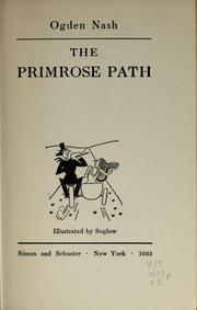 Cover of: The primrose path
