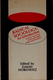 Radical sociology