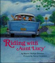 Cover of: Riding with Aunt Lucy