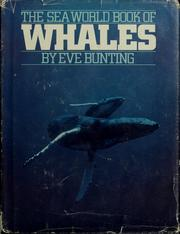 Cover of: The sea world book of whales