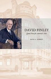 David Finley by David A. Doheny