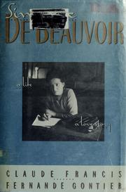 Simone de Beauvoir by Claude Francis