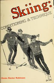 Cover of: Skiing: conditioning & technique