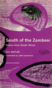 Cover of: South of the Zambesi