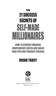 Cover of: 21 Success Secrets by Brian Tracy