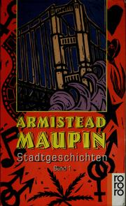 Cover of: Stadtgeschichten | Armistead Maupin