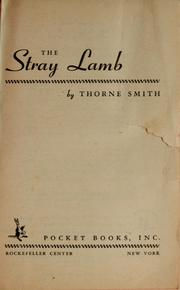 Cover of: The stray lamb