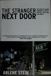 Cover of: The stranger next door