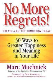 Cover of: No More Regrets by Marc Muchnick
