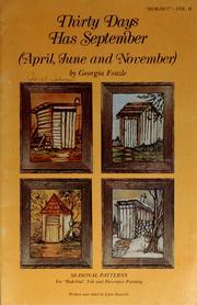 Thirty days has September, April, June and November! (1977 ...