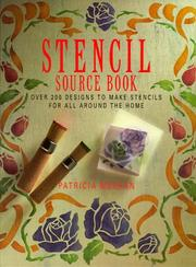 Cover of: Stencil Source Book | Patricia Meehan